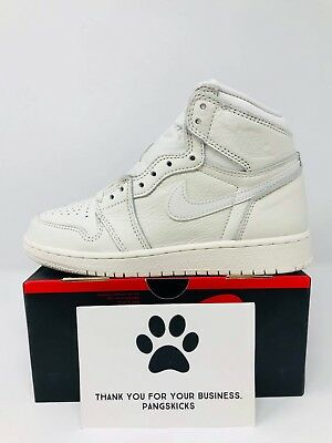 new style 79121 04dbf Nike Air Jordan 1 Retro High OG  Sail  575441-114 GS Size 3.5