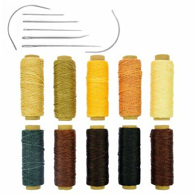10 Colors 150D 1mm Hand Stitching Waxed Leather Thread Dreamcatcher DIY Supplies