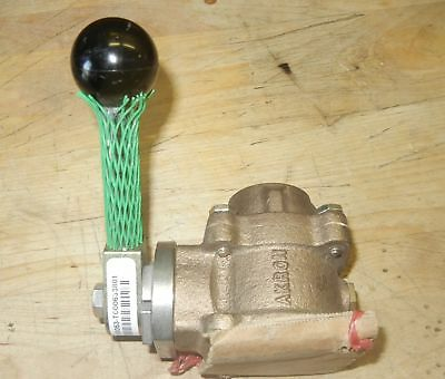 "Akron Heavy Duty Swing Out Valve 1"" 88100053-t000633801 SS Ball  NEW"