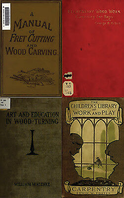 160 Old Books On Carpentry, Woodwork, Lathe, Tools, Carving, Turning On Dvd