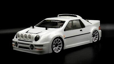 Rcon RS200 Clear Unpainted Lexan Body For M Chassis-M03 M05 M07 -225mm Wheelbase