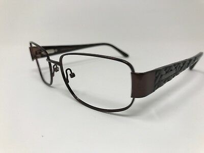 912bf39b9e14 Elizabeth Arden Eyeglass Frame EA-1074-1 Light Brown Polish Frame 52-16