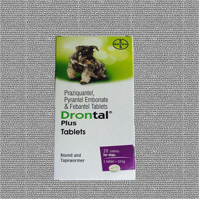 4tablets Drontal Plus Dog Genuine German Product Free Shipping Best Price