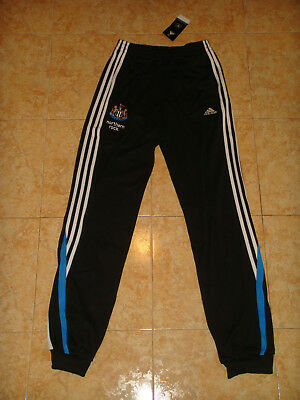 461543282b24 Newcastle United Soccer Sweat Pants England Magpies Football Bottoms NEW XLB