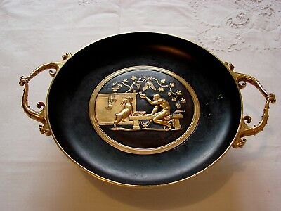 Antique French Bronze Barbedienne Neo Greek Tazza F.levillain