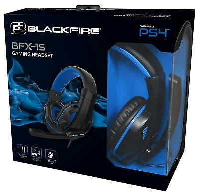 AURICULARES GAMING PS4 Blackfire BFX // MICROFONO // CHAT - NUEVO
