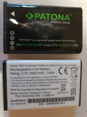 LOT de 2 BATTERIES pour GARMIN MONTERRA/MONTANA