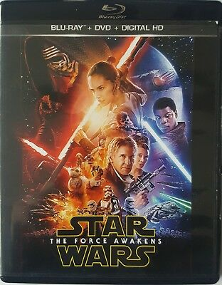 Star Wars the Force Awakens/Rogue One: A Star Wars Story Blu-ray/DVD