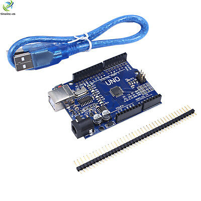 NEW UNO R3 ATmega328P CH340G USB Driver Board & USB Cable For Arduino