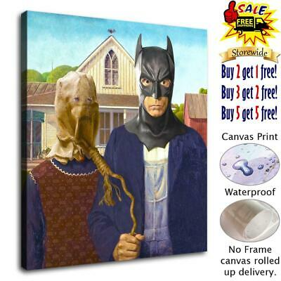 """12""""x14"""" Batman posters HD Canvas Print Painting Home Decor room Wall Art Picture"""