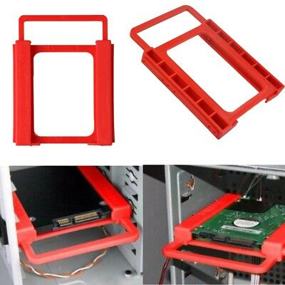2.5inch to 3.5inch SSD HDD Notebook Hard Disk Drive Plastic Adapter Mount Holder