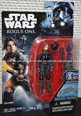 """Star Wars Rogue One 3.75"""" Figure Jyn Erso (Imperial Disguise)"""