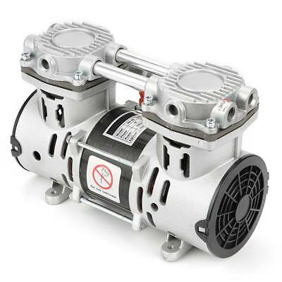 VN-60 220V 260W Oil-Free Air Compressor Motor Vacuum Built-in Silencer Pump LJ