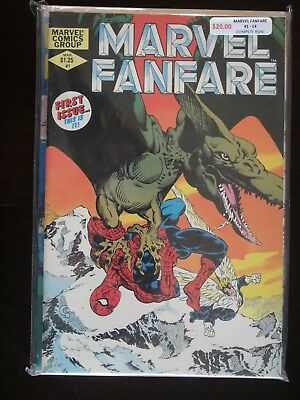 MARVEL FANFARE #1-14 Complete Run! BLOWOUT ON HUNDREDS OF SETS!