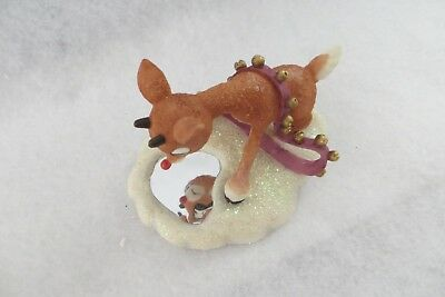"""let Your Light Shine"" Enesco Rudolph Island Of Misfit Toys #557269 - Mib"