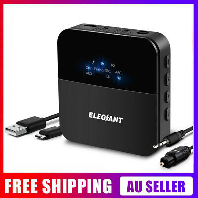 ELE V5.0  bluetooth Transmitter Receiver + 3.5MM AUX Digital Optical RCA Adapter