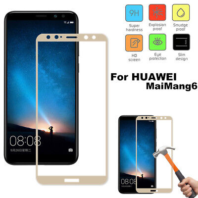 For Huawei Mate 10 Lite/Nova 2i Full Cover Tempered Glass Screen Protector Film