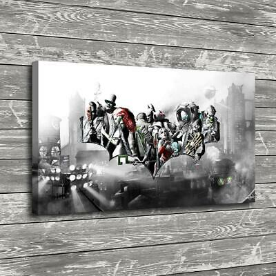 batman posters HD Canvas Print Painting Home Decor room Wall Art Picture 102836