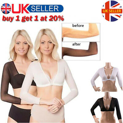 UK 2019 Plus Size Seamless Arm Shaper Amazing Arms SD1