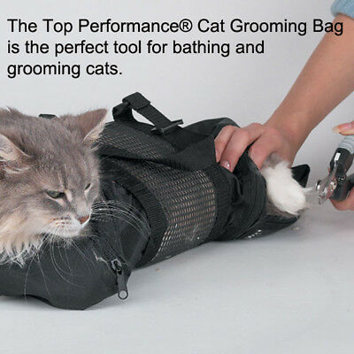 Pet Cat Bath Bag Shower Grooming Restraint Bag Claw Nail Trimming Pet Supplies S