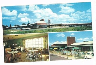 3a   Vintage 1960's Postcard - Parkway Manor Motel JESSUP Maryland Fort Meade