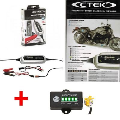 Ctek XS 0.8 Charger 12V 220-240V for Motorcycle Batteries & Smaller Batteries
