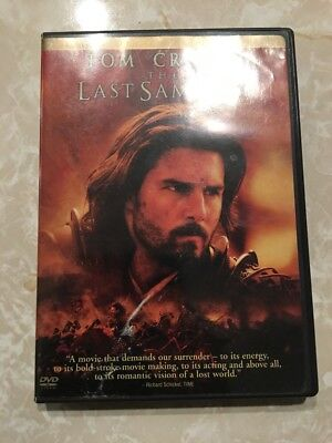 The Last Samurai (2 Disc-Full Screen Edition) DVD Tested and plays 100% EUC