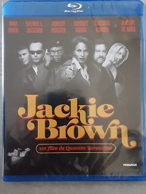 Jackie Brown Tarantino Blu-ray import Belgique avec vrai VF NEUF sous blister