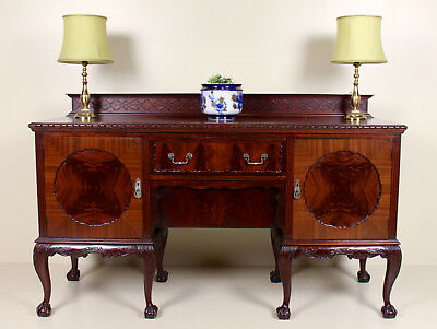 Large Antique 19th Century Sideboard Cuban Mahogany Credenza