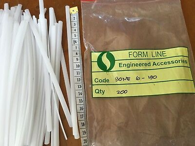 AU SELLER 12 Pces Acrylic boning dressmakers Underwear,bustier, Corseted,bridal