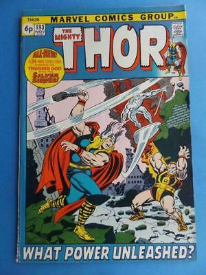Thor 193 1971 Classic Silver Surfer! Squarebound! Very Nice!