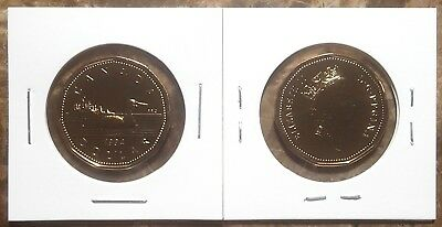 Canada 1994 Gem UNC Proof Like Loonie!!