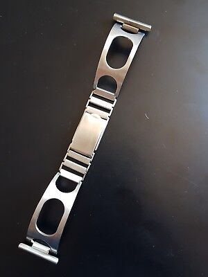 Vintage Bracelet Whatch Rally Style 22Mm Diver , Chronograph Stainless Steel
