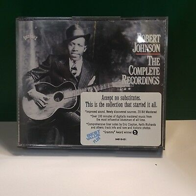 The Complete Recordings by Robert Johnson (CD) 2 Discs 13165