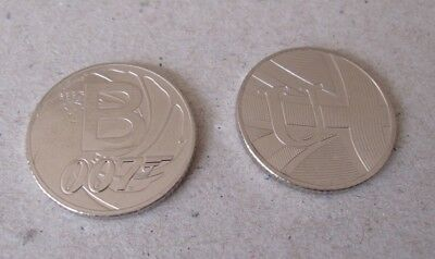 CHEAPEST ON EBAY  1 x B & 1 x U - 10p COINS  A-Z COLLECTORS BRITISH COIN HUNT ##