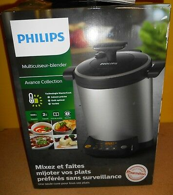 Philips Avance Collection HR2206 - Mixeur/cuiseur - 2 litres - 1000 Watt    -50%