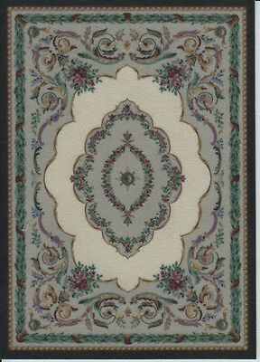 """1:12 Scale Dollhouse Area Rug - 0001351 - approximately  5 x 7"""""""