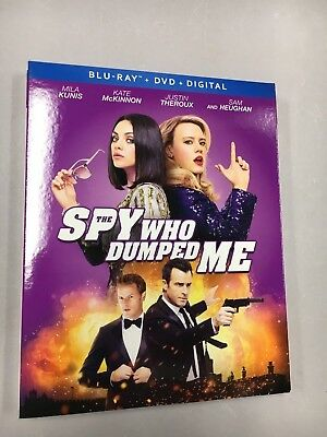 The Spy Who Dumped Me (Blu-ray/DVD, 2018, 2-Disc Set, with digital