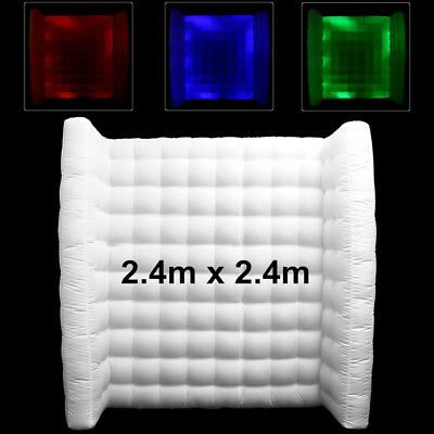 Inflatable Photo Booth Wall ON SALE with LED Lights, inturnal blower and remote