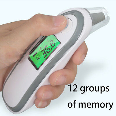 Digital IR Temperature Meter Infrared Ear Forehead Thermometer Baby Adult Fever