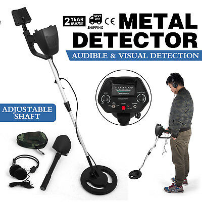 Visua Discriminating Metal Detector with Pinpoint function with Beginners Guide