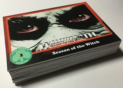HALLOWEEN 3:SEASON OF THE WITCH 1982- Custom Retro Trading Card Set of 36 Cards