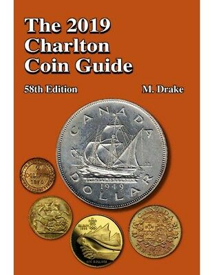 New 2019 Charlton Coin Guide Catalog Including Banknotes Tokens More 58 Edition