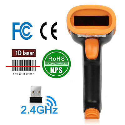 Wireless Bluetooth Barcode Scanner Reader For Apple IOS Android Win10 Win7/8