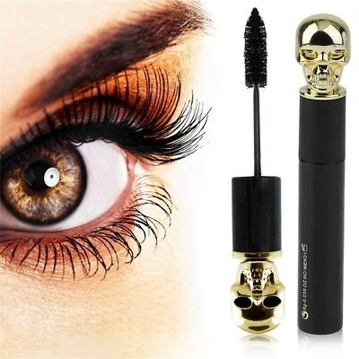 Black Eye Mascara Makeup ~~rling Thick Mascara 3D Lashes Mascara Waterproof Y5