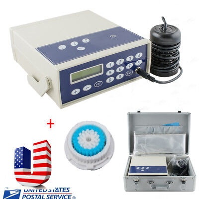 【USA】Professional Ion Cell Ionic Detox Foot Bath Spa Chi Cleanse Machine w Gift