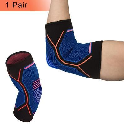 Fitness Elbow Brace Compression Support Sleeve for Tendonitis, Tennis Elbow, BG