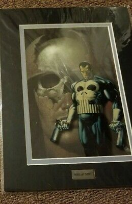 Marvel Comics Limited Edition Laser Cel The Punisher and Wolverine