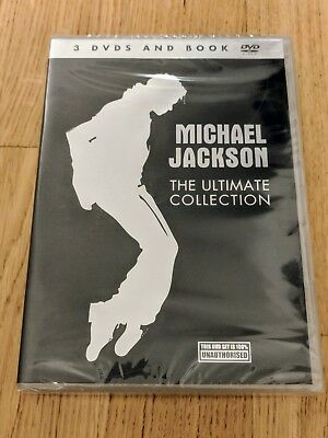 Michael Jackson- The Ultimate Collection (3xDVD and Book) - Neu!