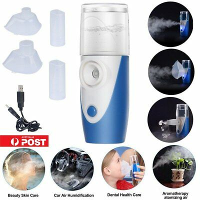 115KHz Portable Handheld Ultrasonic Nebulizer Humidifier Atomizer for Children W